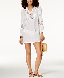 Raviya Crochet Cover-Up Dress