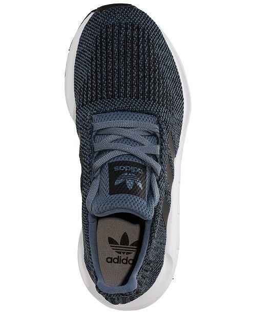 15625f59b839 adidas Big Boys  Swift Run Running Sneakers from Finish Line ...