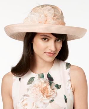 Edwardian Hats, Titanic Hats, Tea Party Hats August Hats Opal Romantic Dressy Hat $96.00 AT vintagedancer.com