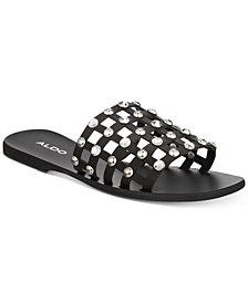 ALDO Unterman Embellished Slide Sandals