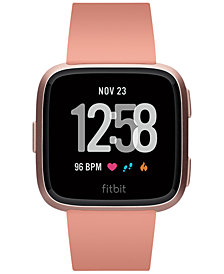 Fitbit Versa™ Peach Band Touchscreen Smart Watch 39mm