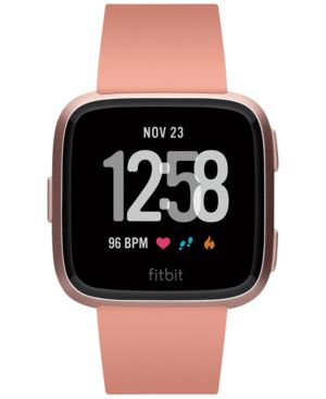 Versa Peach Band Touchscreen Smart Watch 39Mm, Peach / Rose Gold