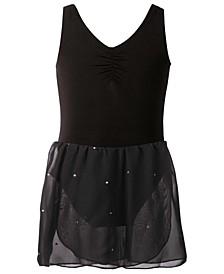 Sparkle-Skirt Leotard, Toddler, Little & Big Girls