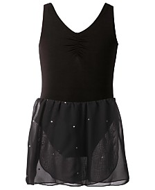 Flo Dancewear Sparkle-Skirt Leotard, Toddler, Little & Big Girls