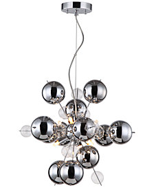 "Zeev Lighting Proton 59"" 6-Light Pendant"
