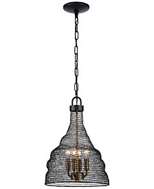 "Zeev Lighting Urban 16"" 4-Light Pendant"