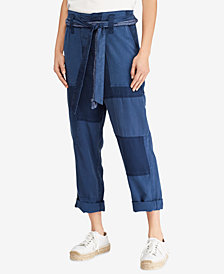 Polo Ralph Lauren Patchwork Straight-Leg Pants