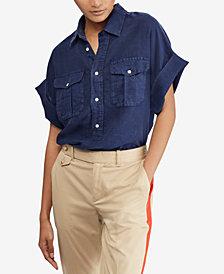 Polo Ralph Lauren Linen Utility Shirt