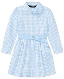 Polo Ralph Lauren Gingham Shirtdress, Toddler Girls