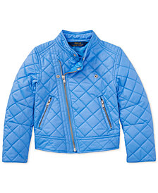 Polo Ralph Lauren Moto Jacket, Little Girls
