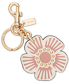 COACH Boxed Willow Floral Bag Charm