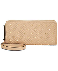 I.N.C Quiin Zip-Around Wristlet, Created for Macy's