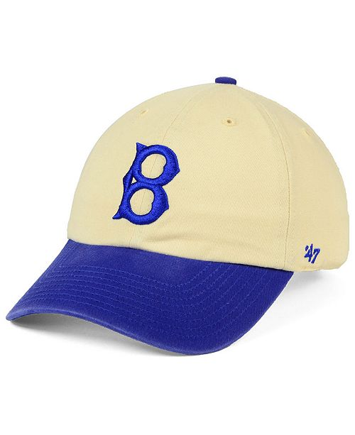 3cb1936c65a 47 Brand Brooklyn Dodgers Cooperstown Two Tone CLEAN UP Cap - Sports ...