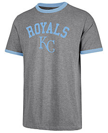 '47 Brand Men's Kansas City Royals Capital Ringer T-Shirt