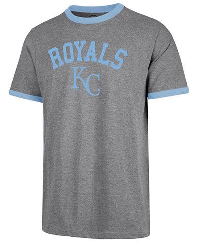 '47 Brand Men's Kansas City Royals Capital Ringer T-Shirt