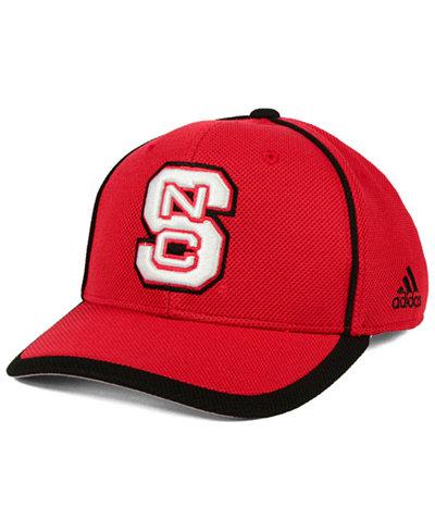 adidas North Carolina State Wolfpack Piping Hot Adjustable Cap