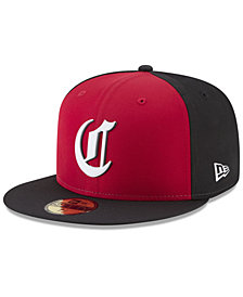 New Era Boys' Cincinnati Reds Batting Practice Prolight 59FIFTY FITTED Cap