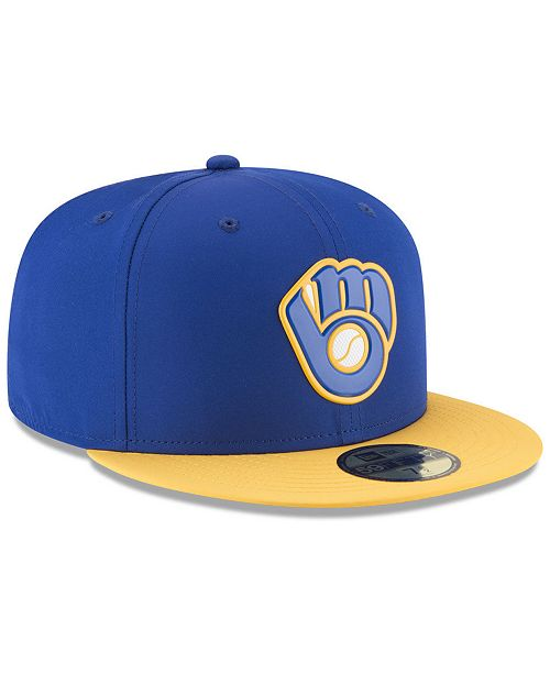 san francisco d8f20 4f656 ... FITTED Cap  New Era Boys  Milwaukee Brewers Batting Practice Prolight  59FIFTY FITTED ...