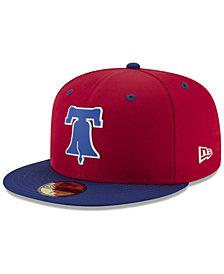 New Era Boys' Philadelphia Phillies Batting Practice Prolight 59FIFTY FITTED Cap