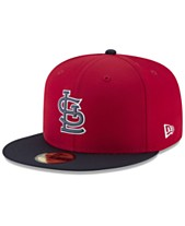 New Era Boys  St. Louis Cardinals Batting Practice Prolight 59FIFTY FITTED  Cap 1a60e9404b