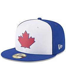 New Era Boys' Toronto Blue Jays Batting Practice Prolight 59FIFTY FITTED Cap