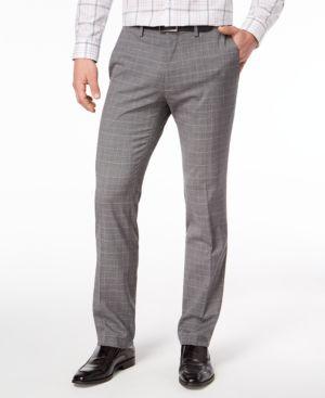 Kenneth Cole Reaction Men's Slim-Fit Stretch Dress Pants 5524651