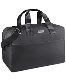 Receive a FREE Duffel Bag with any large spray purchase from the Jimmy Choo men's fragrance collection