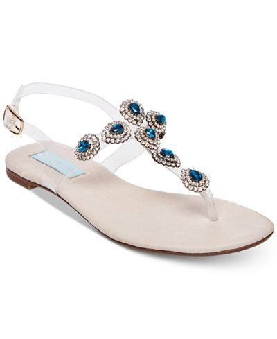 Blue by Betsey Johnson Gabbi Flat Sandals