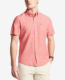 Tommy Hilfiger Men's Porter Linen Shirt, Created for Macy's