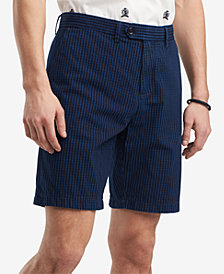 """Tommy Hilfiger Men's Bruce Gingham Check 9"""" Shorts, Created for Macy's"""