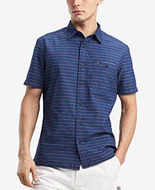Tommy Hilfiger Men's Wally Indigo Shirt, Created for Macy's