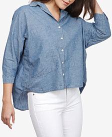 Lucky Brand 3/4-Sleeve Shirt