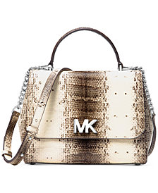 MICHAEL Michael Kors Medium Mott Top-Handle Satchel