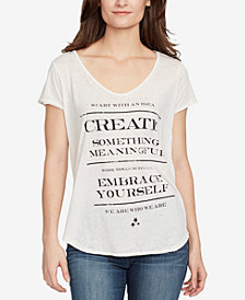 WILLIAM RAST Cutout-Back T-Shirt
