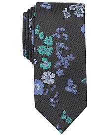 Tallia Men's Driftwood Floral Slim Tie