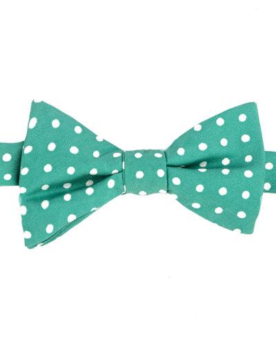 Tommy Hilfiger Men's Printed Dot To-Tie Silk Bow Tie