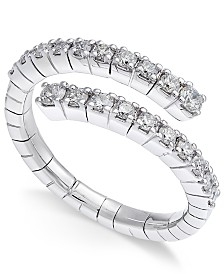 Diamond Wrap Ring (5/8 ct. t.w.) in 14k White Gold