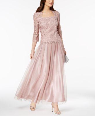 Alex Evenings Tea Length Dresses