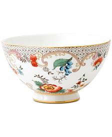 Wedgwood Wonderlust  Rococo Flowers Bowl
