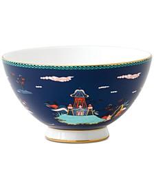 Wonderlust  Blue Pagoda  Bowl