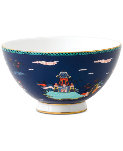 Wedgwood Wonderlust Blue Pagoda Bowl