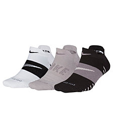 Nike 3-Pk. Dry Cushioned Low-Rise Training Socks