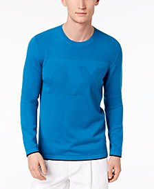 A|X Armani Exchange Men's Logo Sweater