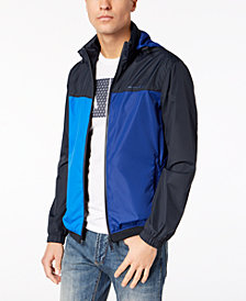 A|X Armani Exchange Men's Colorblocked Windbreaker