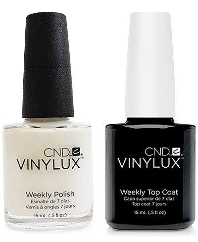 Creative Nail Design Vinylux Cream Puff Nail Polish & Top Coat (Two Items), 0.5-oz., from PUREBEAUTY Salon & Spa