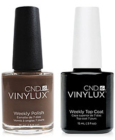 Creative Nail Design Vinylux Rubble Nail Polish & Top Coat (Two Items), 0.5-oz., from PUREBEAUTY Salon & Spa