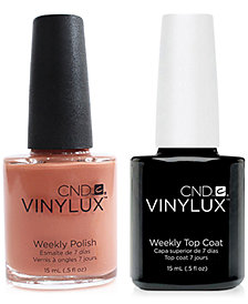Creative Nail Design Vinylux Clay Canyon Nail Polish & Top Coat (Two Items), 0.5-oz., from PUREBEAUTY Salon & Spa