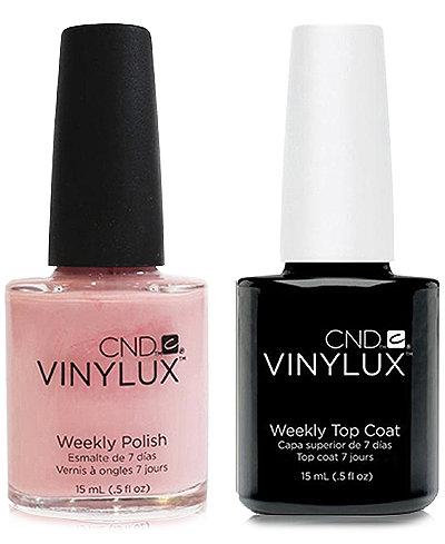 Creative Nail Design Vinylux Be Demure Nail Polish & Top Coat (Two Items), 0.5-oz., from PUREBEAUTY Salon & Spa