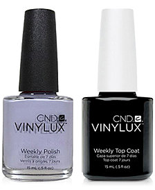 Creative Nail Design Vinylux Thistle Thicket Nail Polish & Top Coat (Two Items), 0.5-oz., from PUREBEAUTY Salon & Spa