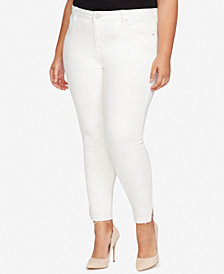 WILLIAM RAST Plus Size Skinny Ankle Jeans